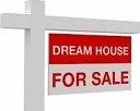 """Dream House for Sale"" lawn sign"