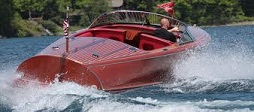 Speedboat on the water