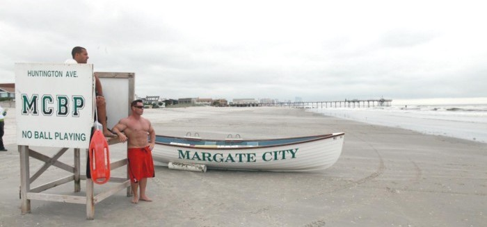 Margate, NJ Lifeguard Stand